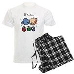 It's a Boy Men's Light Pajamas