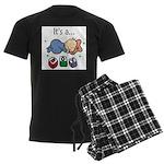 It's a Boy Men's Dark Pajamas