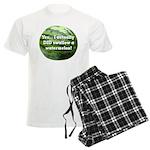 Swallow a Watermelon Men's Light Pajamas