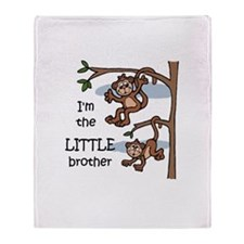 Little Brother Throw Blanket