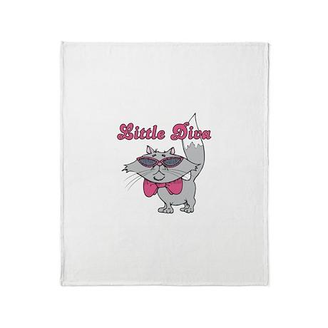 Little Diva Throw Blanket