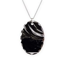 Black Obsidian Stone Necklace