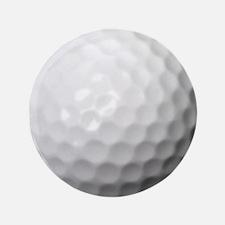 """Golf Ball 3.5"""" Button"""