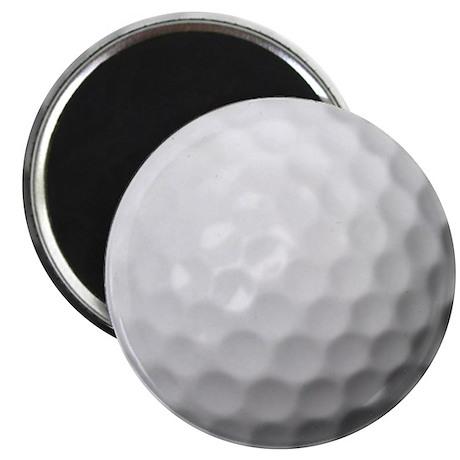 "Golf Ball 2.25"" Magnet (100 pack)"