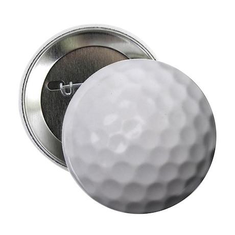 """Golf Ball 2.25"""" Button"""