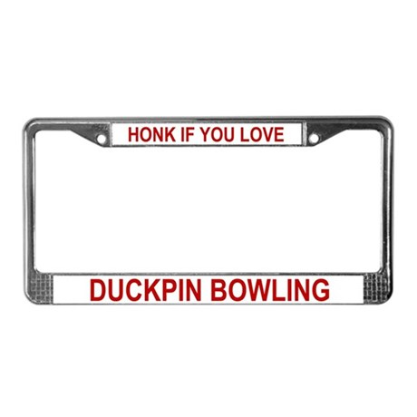 Honk if you love - License Plate Frame