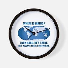 Where's Waldo Wall Clock