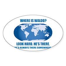 Where's Waldo Decal