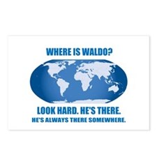 Where's Waldo Postcards (Package of 8)