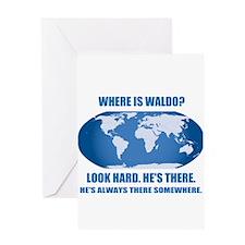 Where's Waldo Greeting Card