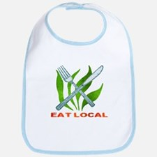 Eat Local Bib