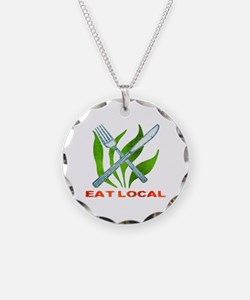 Eat Local Necklace