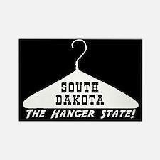 South Dakota - The Hanger Sta Rectangle Magnet