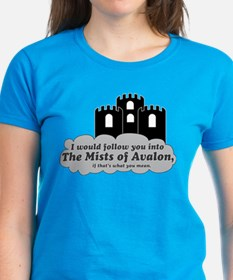 Cute Castle in the clouds Tee