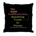 Speaking Truth to Power Throw Pillow