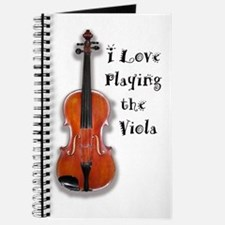 I Love Playing the Viola Journal