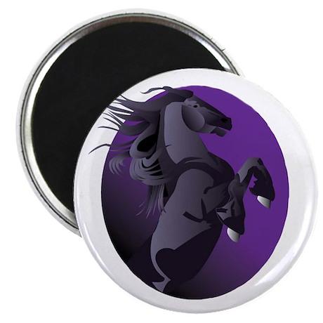 Fresian Horse Magnet
