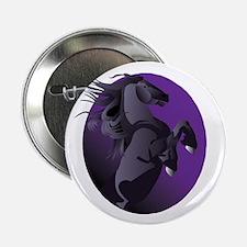 """Fresian Horse 2.25"""" Button"""