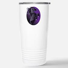 Fresian Horse Travel Mug