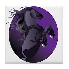Fresian Horse Tile Coaster