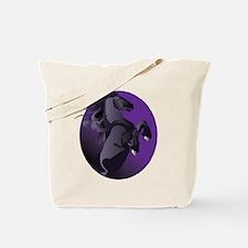 Fresian Horse Tote Bag