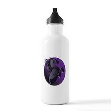 Fresian Horse Water Bottle