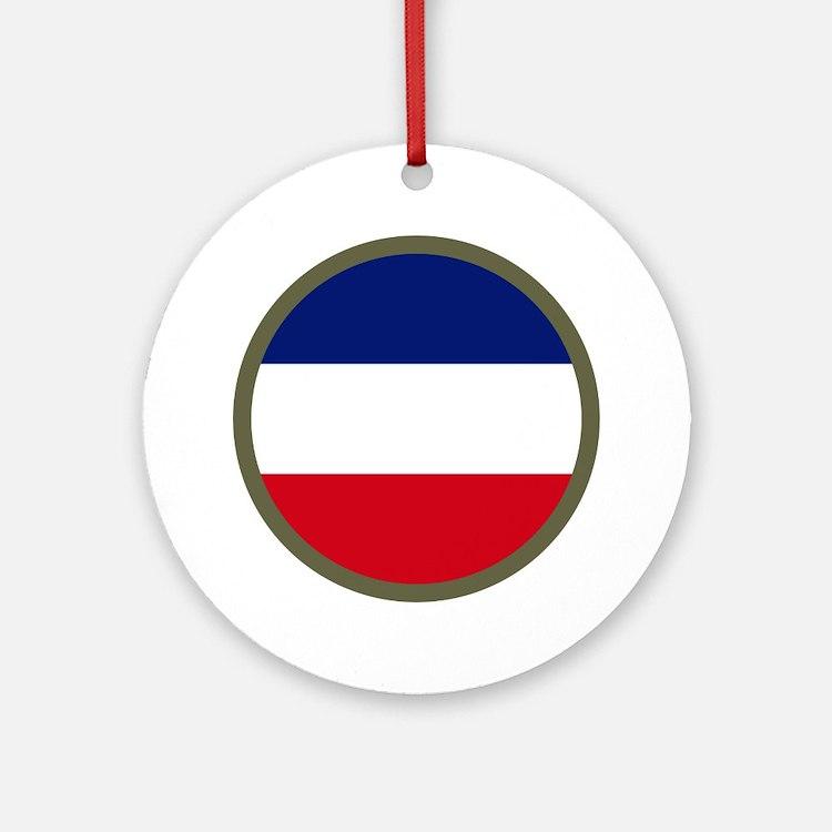 FORSCOM Ornament (Round)