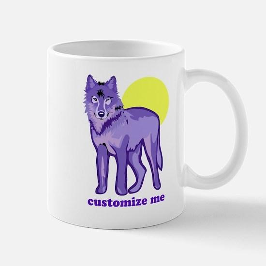 Purple Wolf Mug