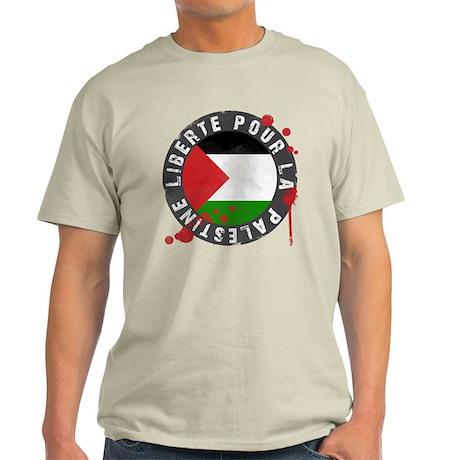 Liberté pour la Palestine Light T-Shirt