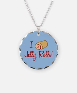 I Love Jelly Rolls Necklace