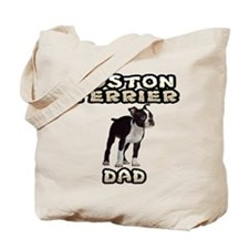 Boston Terrier Dad Tote Bag
