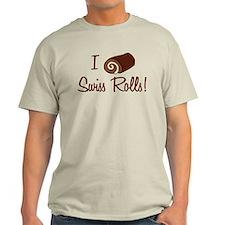 I Love Swiss Rolls T-Shirt