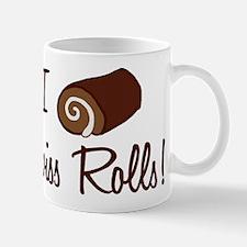 I Love Swiss Rolls Mug