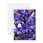 Hyacinth Tower Greeting Card
