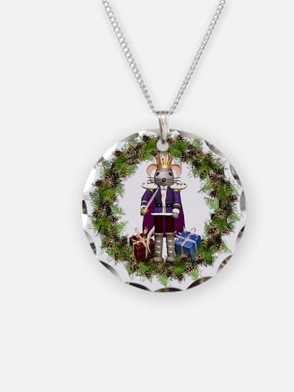 Mouse King Nutcracker Wreath Necklace