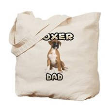 Boxer Dad Tote Bag