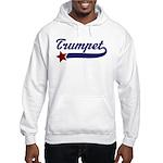 Trumpet Music Star Hooded Sweatshirt