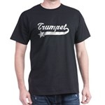 Trumpet Music Star Dark T-Shirt