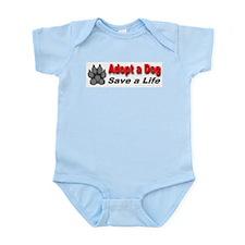 Adopt a dog! Save a life! Infant Creeper