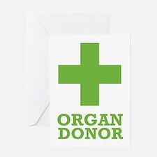 Organ Donor Greeting Card