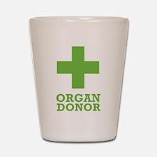 Organ Donor Shot Glass
