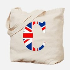 Cute Initial c Tote Bag