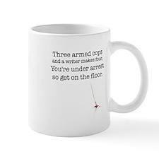 Three armed cops... Mug
