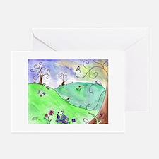 Swirlyville II Greeting Cards (Pk of 10)
