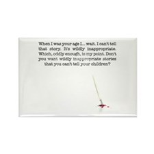 When I was your age... Rectangle Magnet (10 pack)