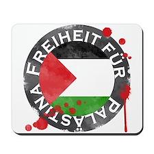 Freiheit für Palästina Mousepad