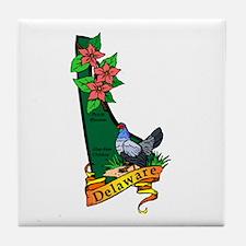 Funny Delaware Tile Coaster