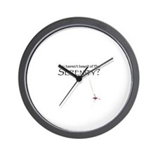 You haven't heard of the Sere Wall Clock