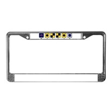 Nautical Willis License Plate Frame