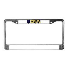 Nautical Will License Plate Frame